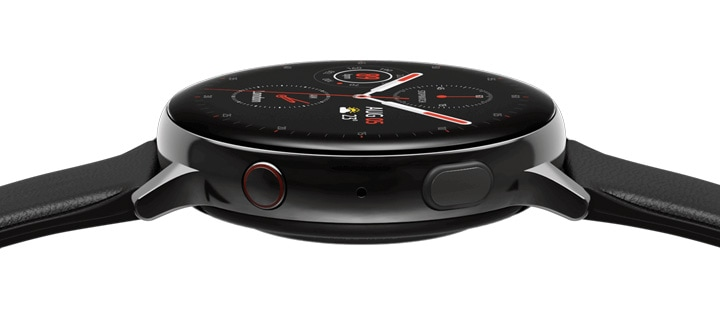 Samsung Galaxy Watch Active2 with large touch bezel