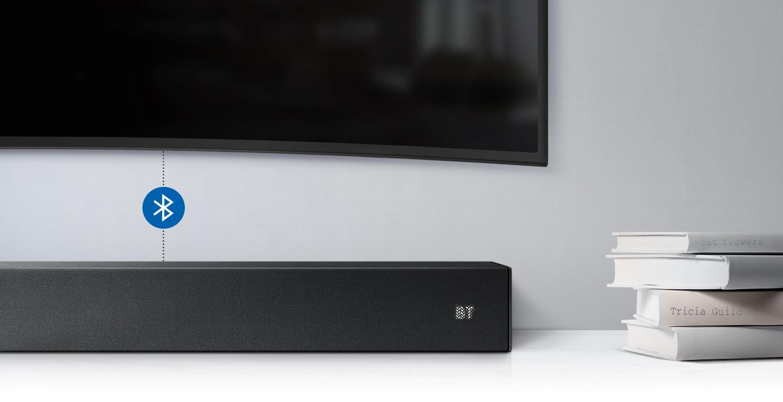 Samsung Soundbar with Bluetooth/Wi-Fi connectivity