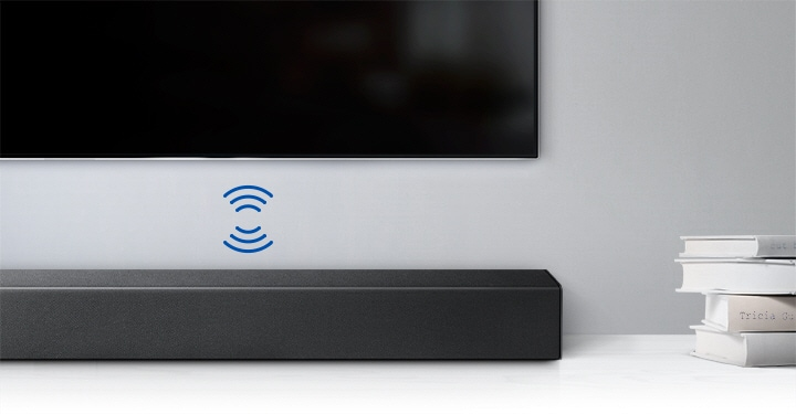 Samsung Soundbar Wireless connection with TV