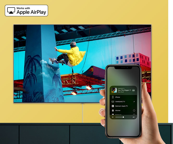 Fonctionne avec AirPlay 2