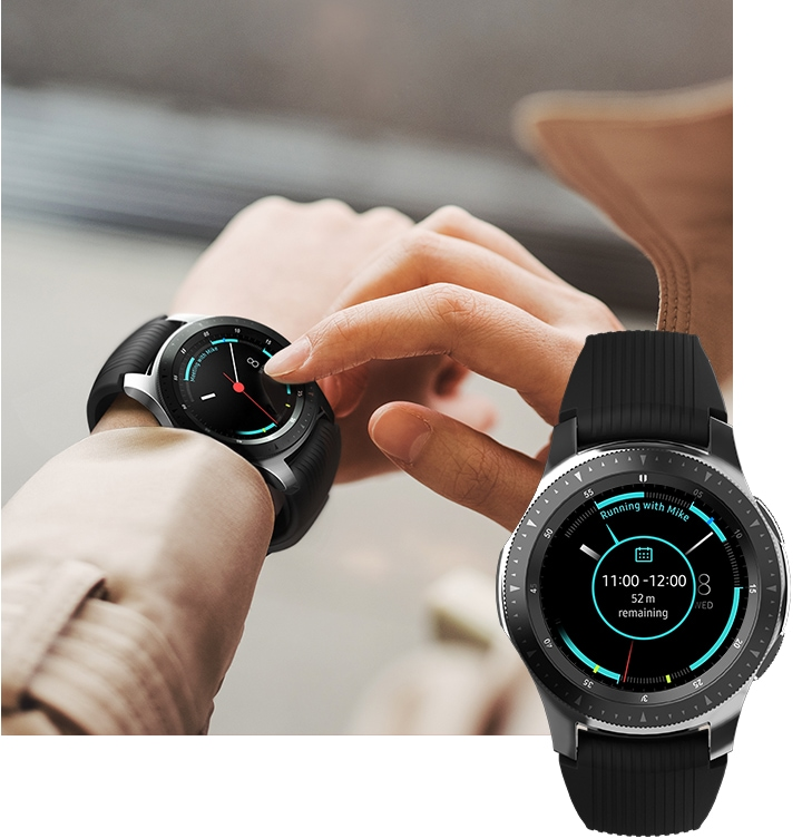 Samsung Galaxy Smart Watch Gear S4 – Day at Single Glance