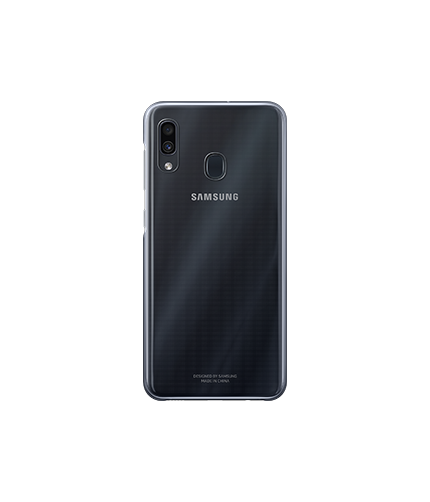 Galaxy A30 Gradation Cover back black
