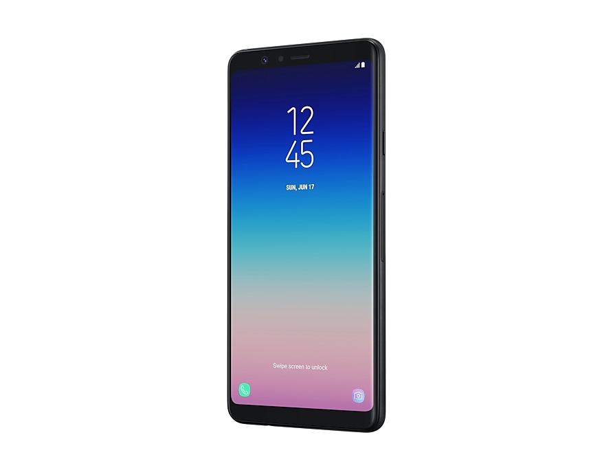 Samsung Galaxy A8 Star feature black