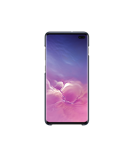 Samsung Galaxy S10+ LED Cover front black