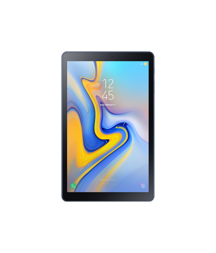 Galaxy Tab A 10.5 front blue