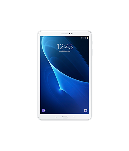 "Galaxy Tab A (2016, 10.1"") Wi-Fi® front white"