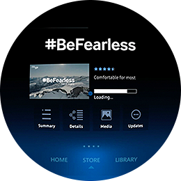 #BeFearless App Download Step 4