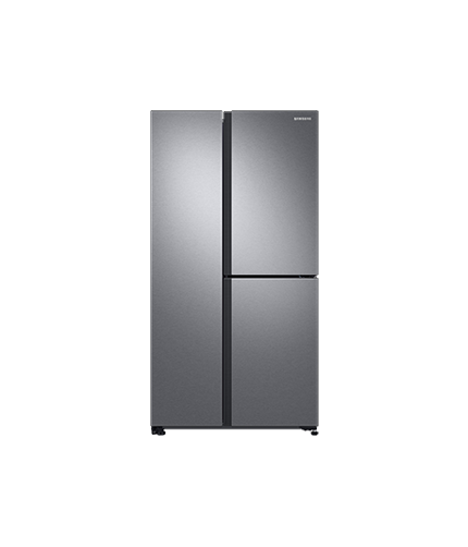 Samsung Multi Door fridge front silver