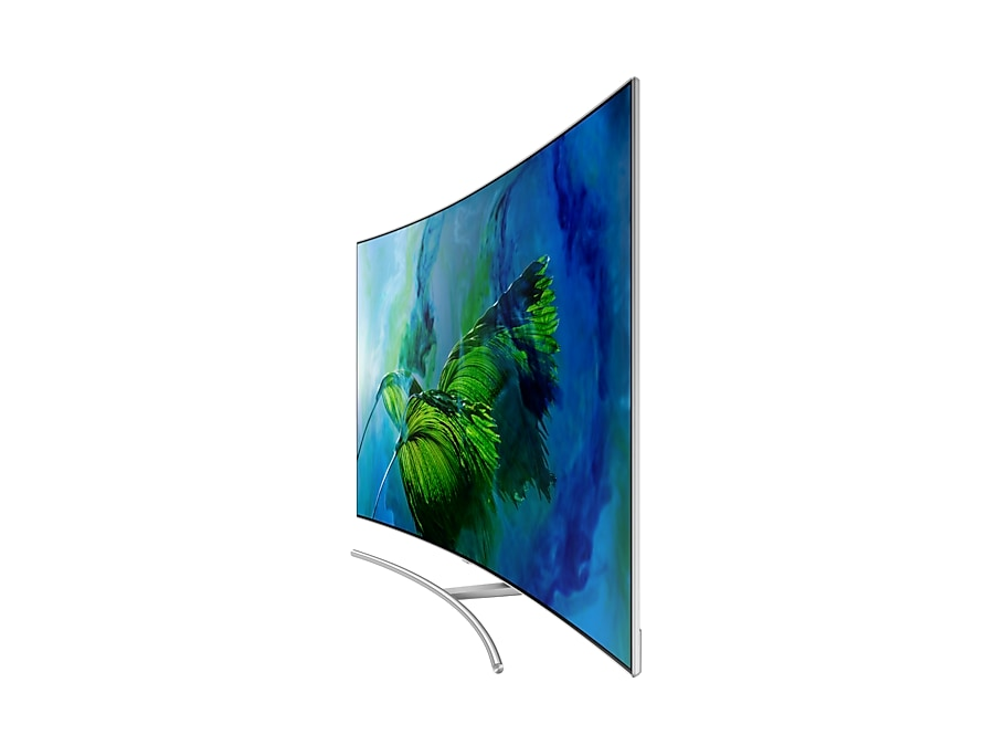 Samsung QLED Q8C 4K Curved Smart TV Dynamic Silver