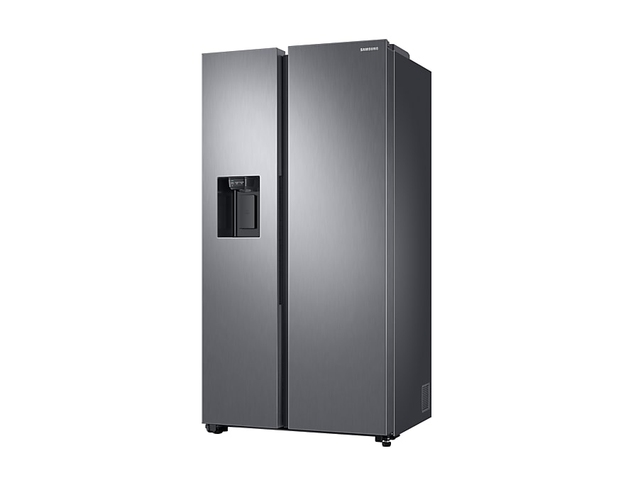 Samsung Refrigerator Twin Cooling Plus™ Side By Side, 617L  r-perspective silver