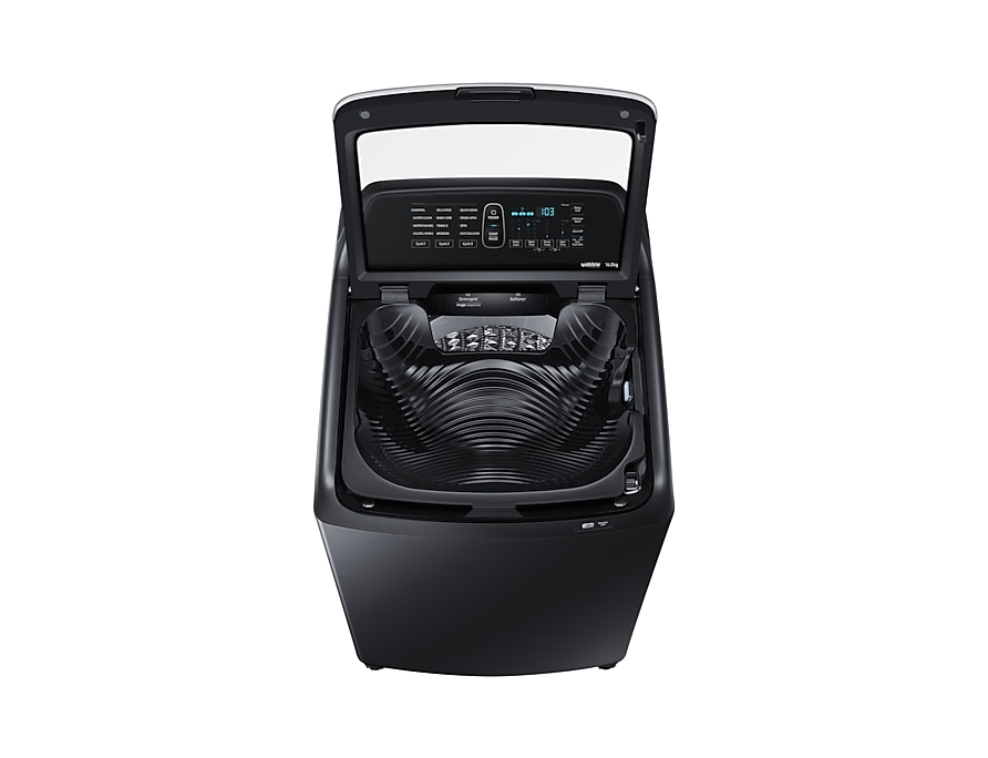 Samsung Washing Machine Active Dual Wash front2-open black