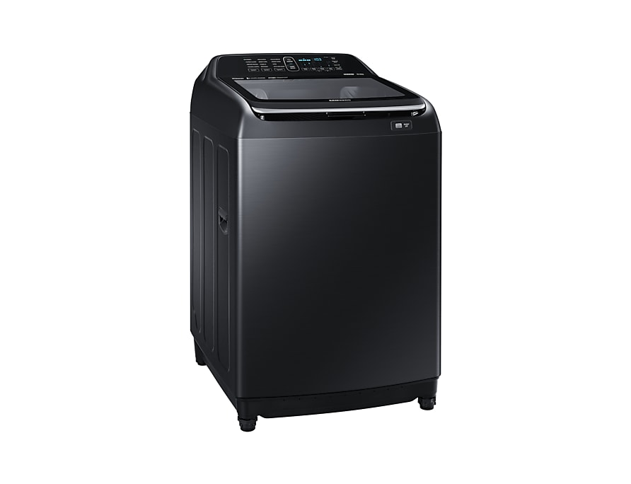 Samsung Washing Machine Active Dual Wash l-perspective black