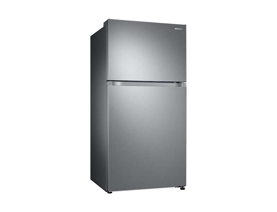 Samsung Top Mount Freezer RT21  l-perspective silver