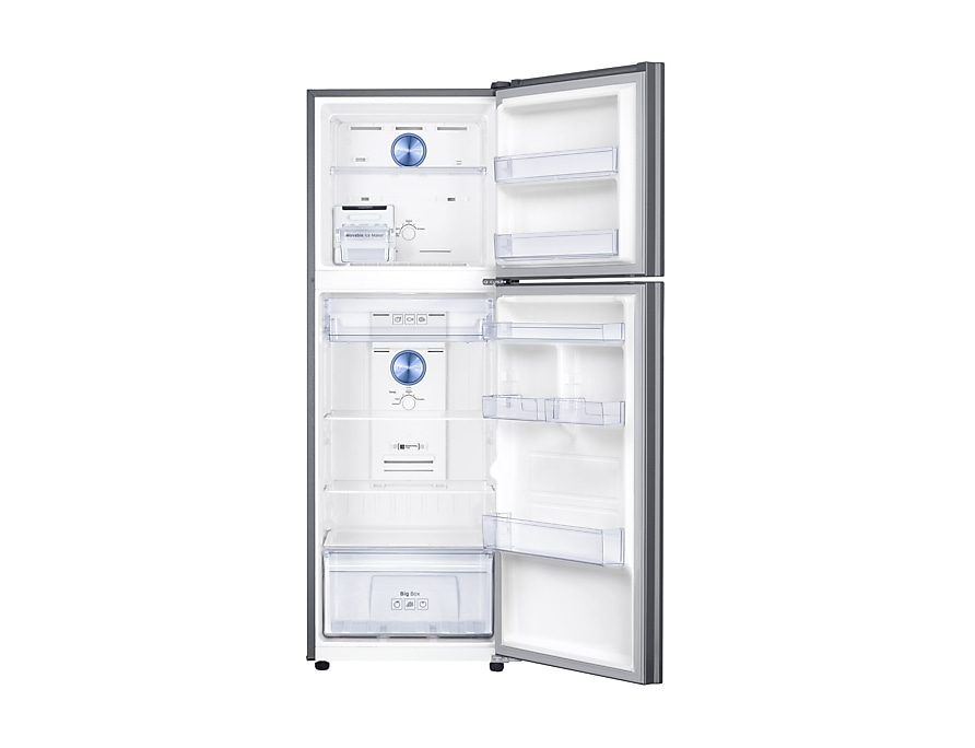 Twin Cooling Plus™, 321L, Top  Mount Freezer, 3 ticks Front Open silver