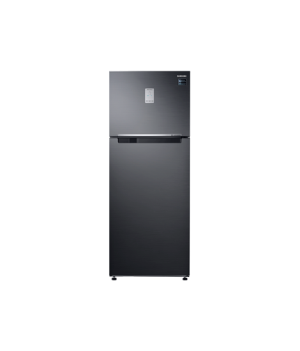 Refrigerator – Twin Cooling Plus™, 460L, Top Freezer, 3 Ticks  front jet black