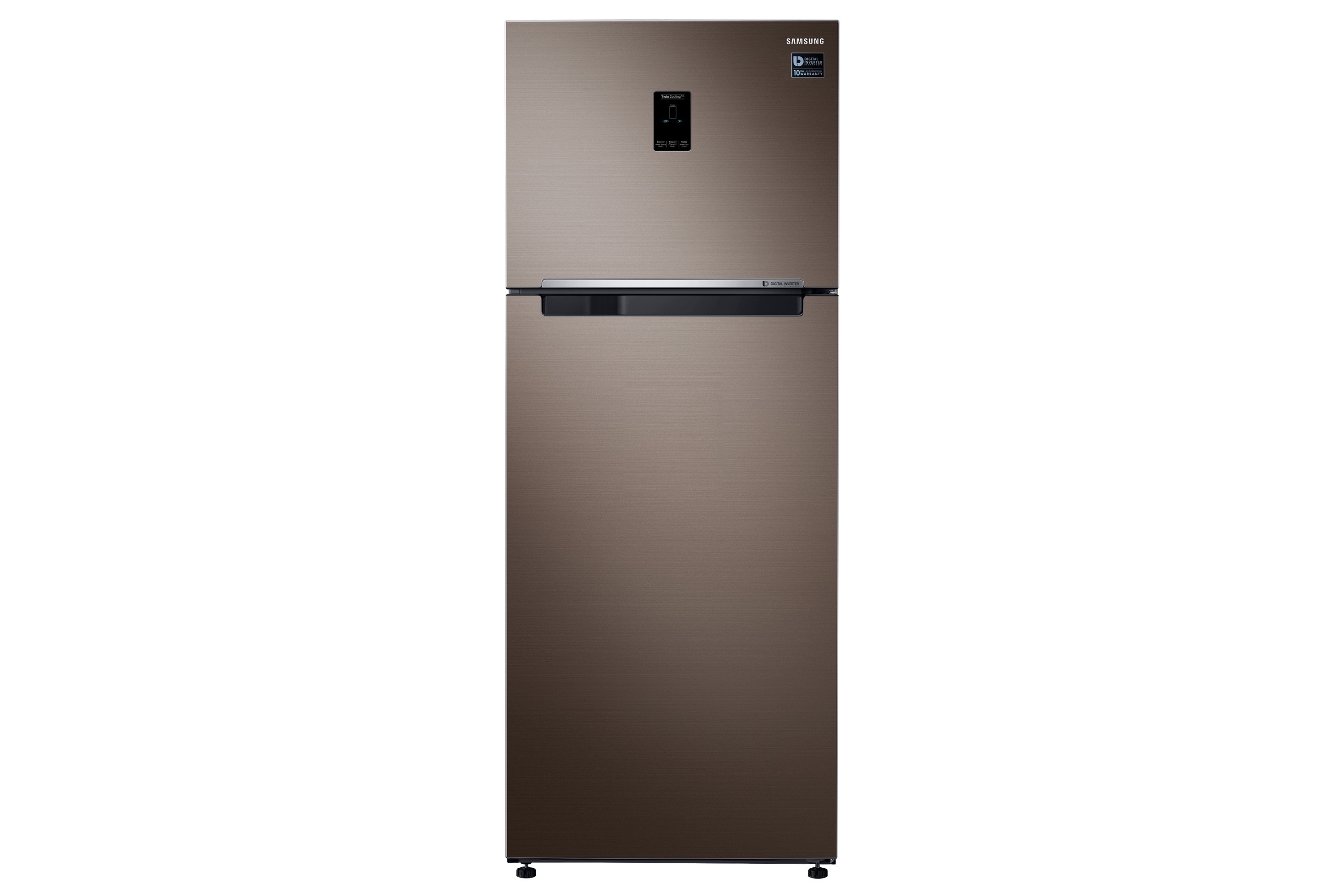 Samsung RT46K237DX 453-litre Twin Cooling Plus™ Top Mount Freezer, 3 Ticks Energy Rating