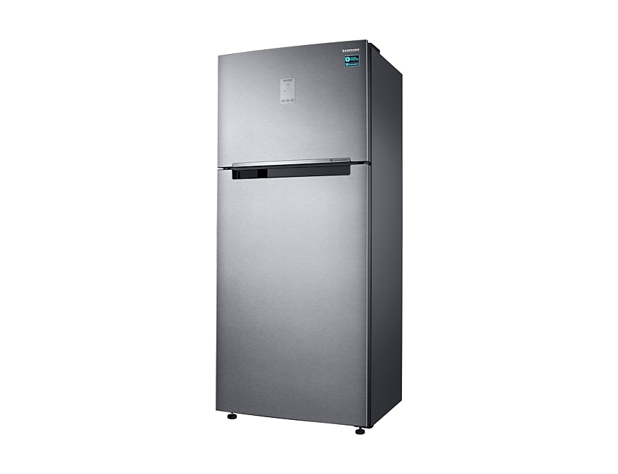 Refrigerator – Twin Cooling Plus™, 530L. Top Mount Freezer, 3 Ticks R Perspactive silver