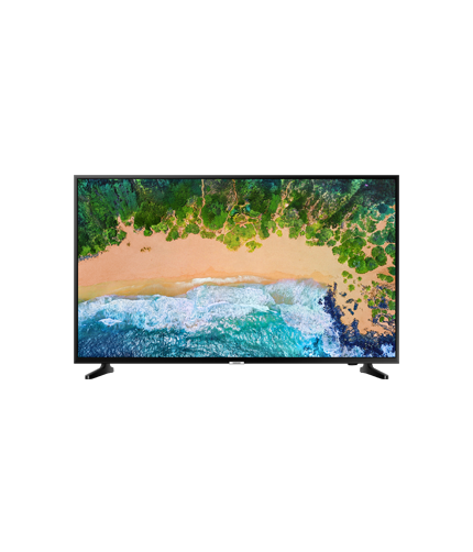 "50"" UHD 4K Smart TV NU7090 Series 7 front black"