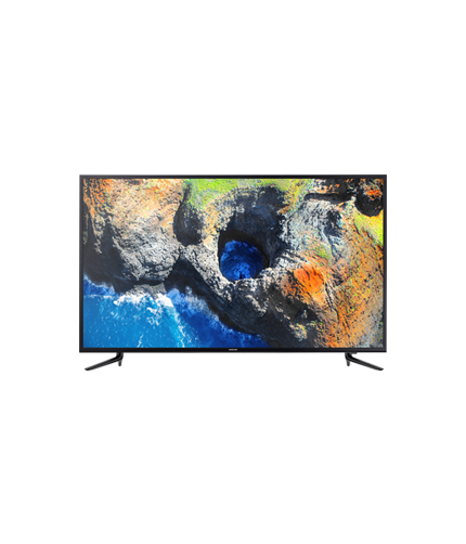 Samsung UHD 4K Smart TV NU7103 Series 7 front black