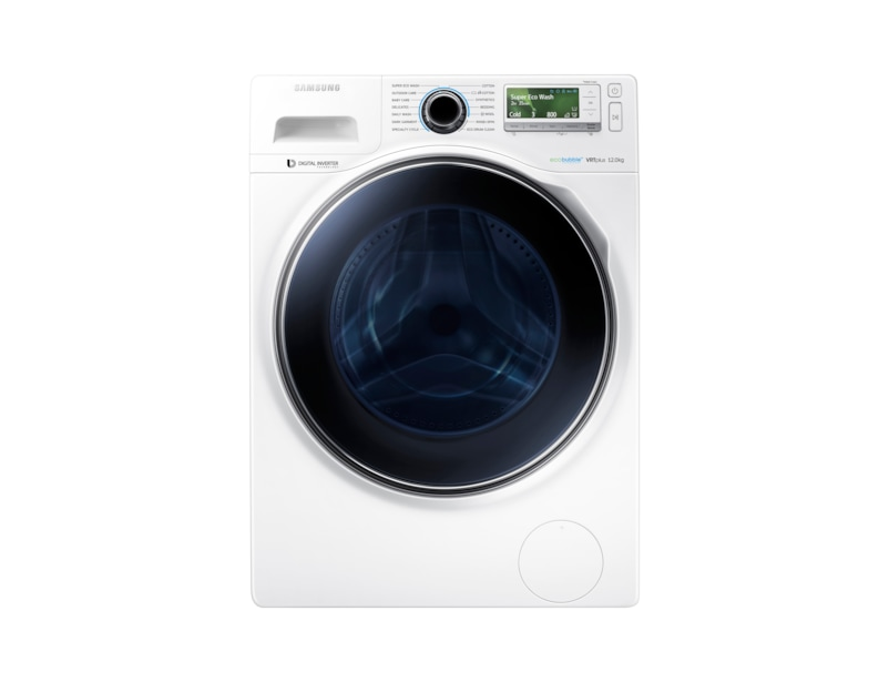 Ww12 eco bubble washer with digital inverter motor 12kg - Samsung eco bubble ...