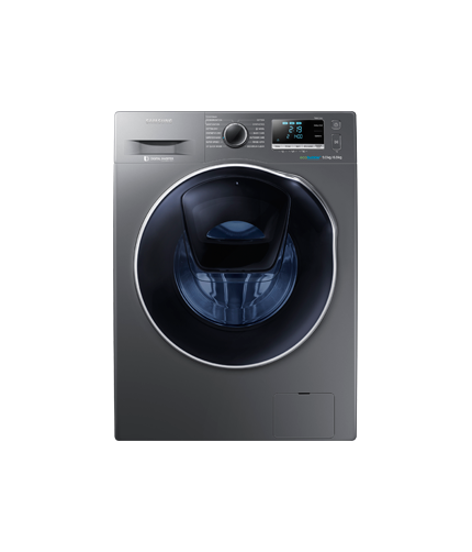 Washing Machine  AddWash™ WD90K6410OX/SP Front Gray
