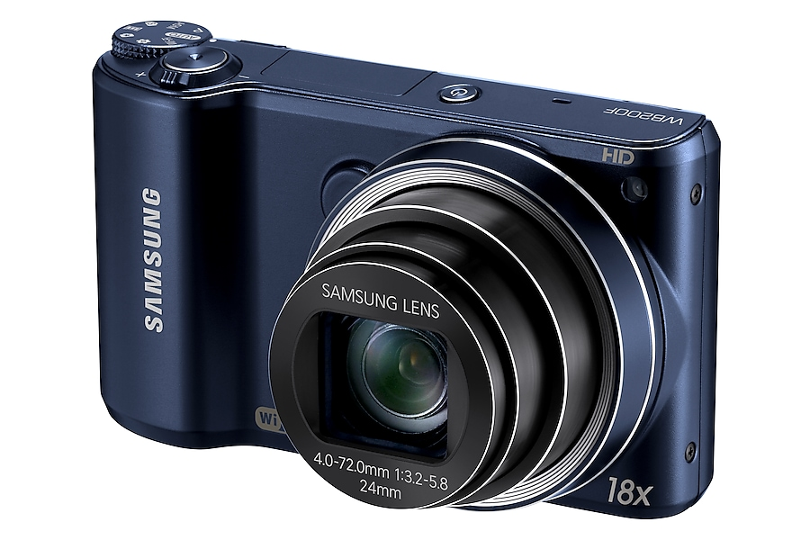 SAMSUNG WB200F Right angle Blue