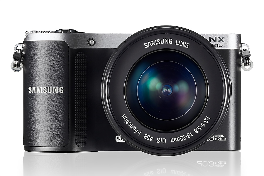 NX210 Front with Lens