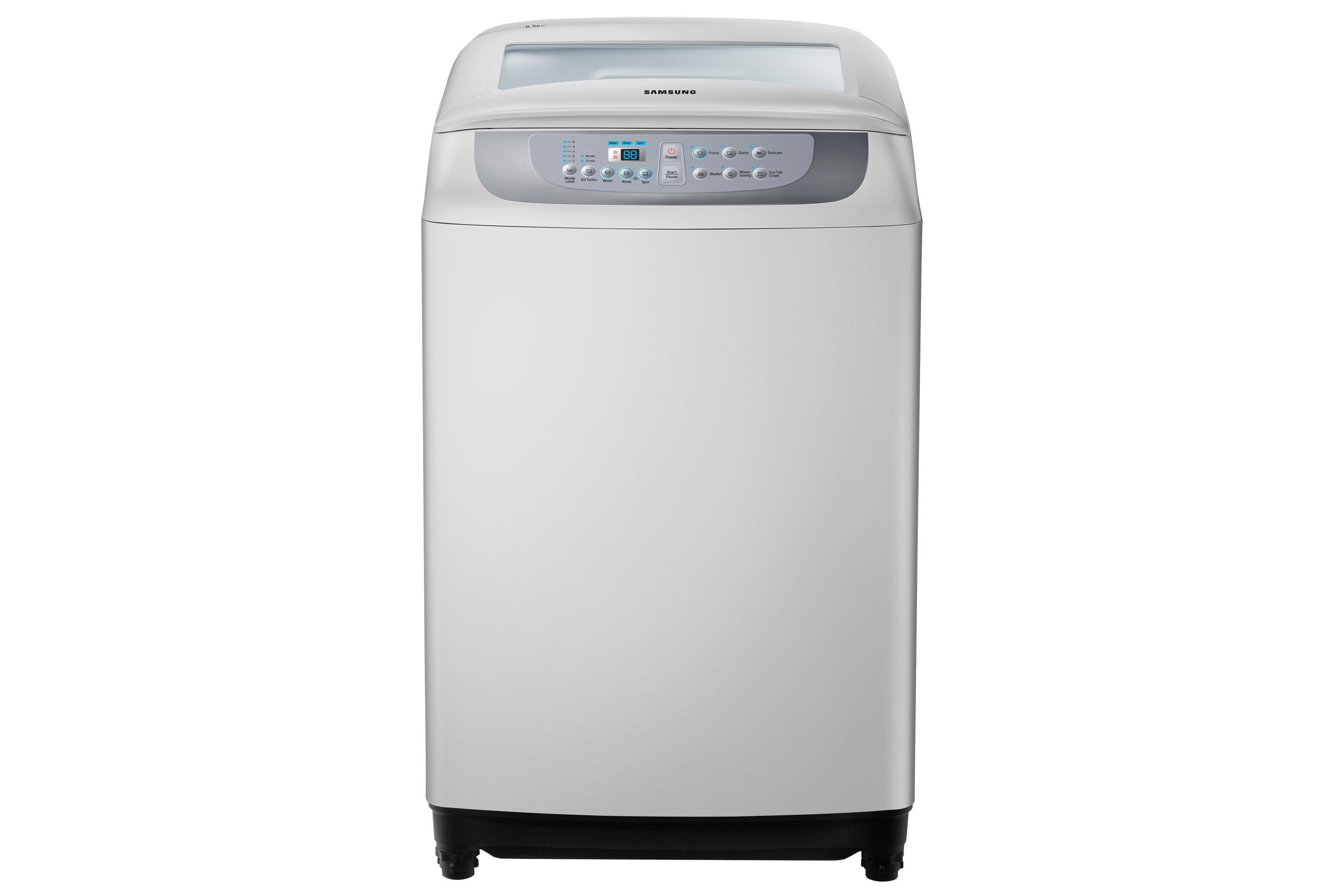 WA85F5S3QRY/SP Front Silver