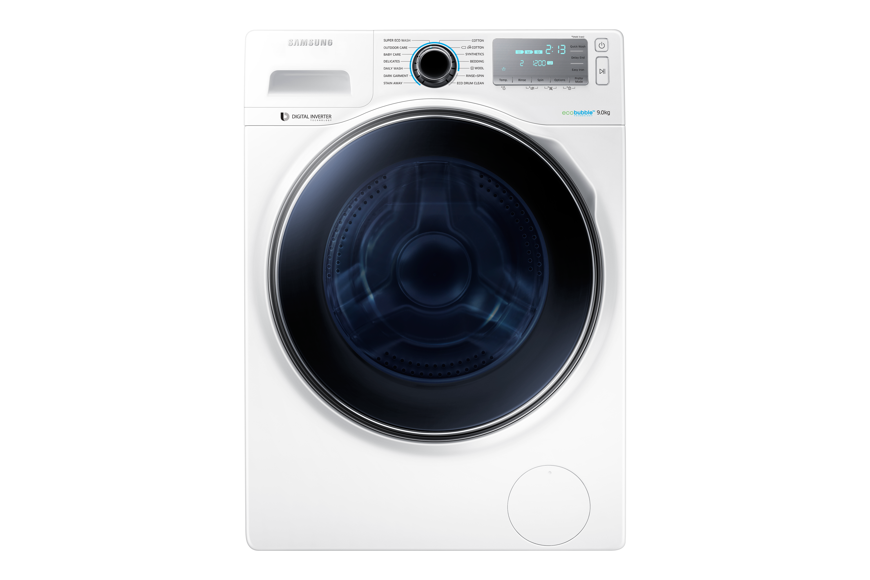 WW90 Eco Bubble Washer with  Digital Inverter Motor,9kg