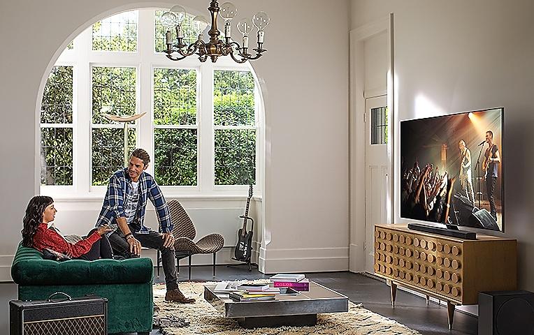 TV † prednji pogled od blizu