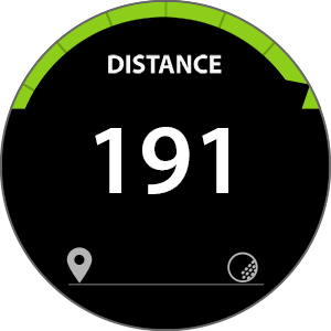 Screenshot 4 of GolfNavi app for Gear S3