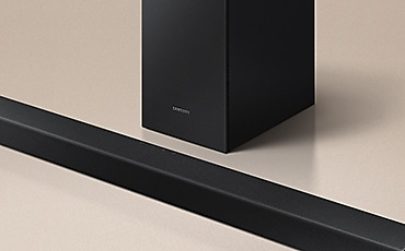 T450 Soundbar and subwoofer a