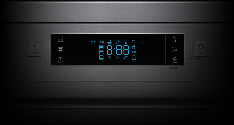 Majte prehľad o stave umývačky ľahko a intuitívne