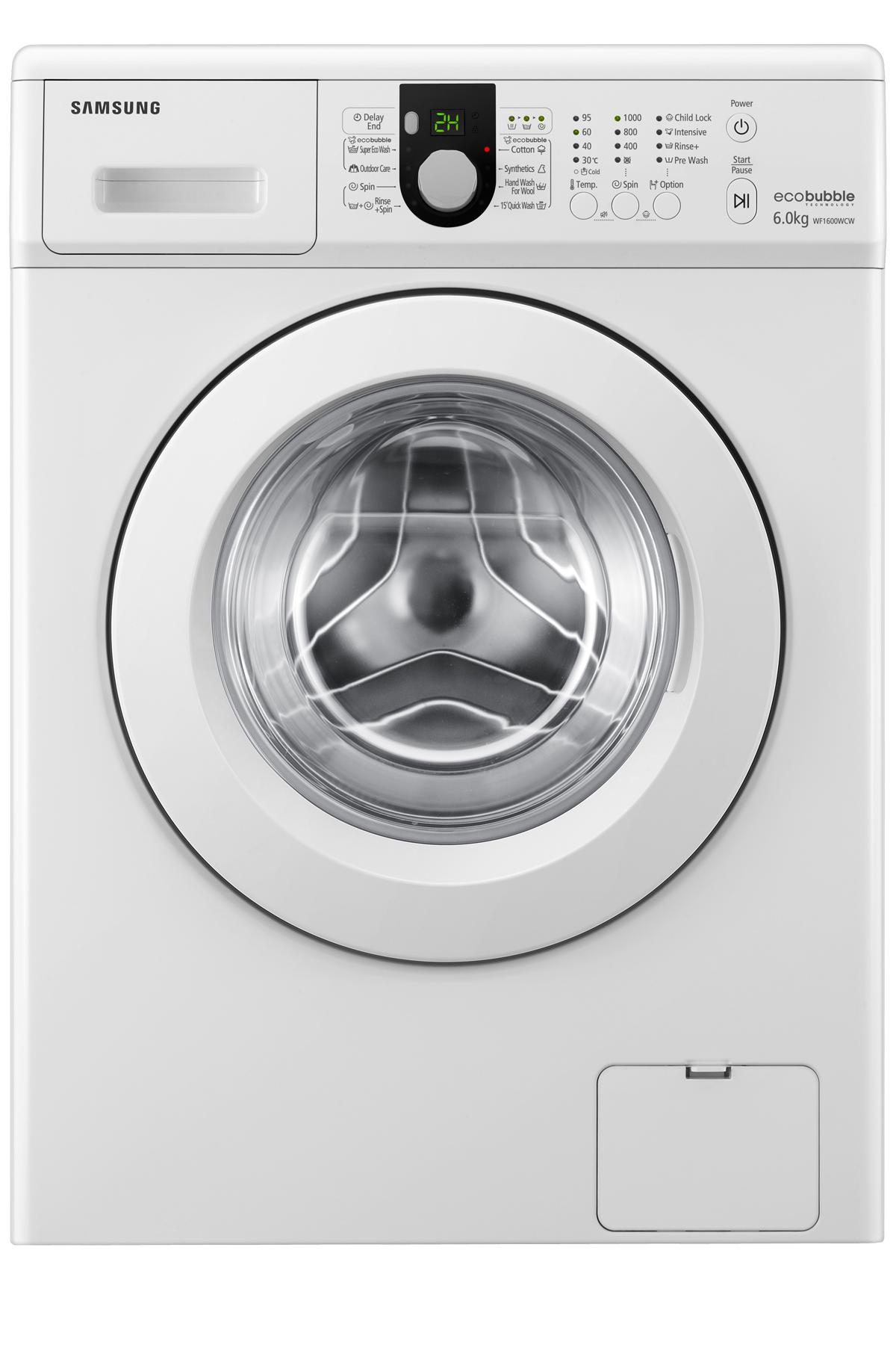 Aegis Bigbang Bubble Washer with Ceramic Heater, 6 kg, White
