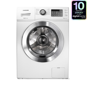 Baikal Washer with Digital Inverter Motor, 6 kg, White