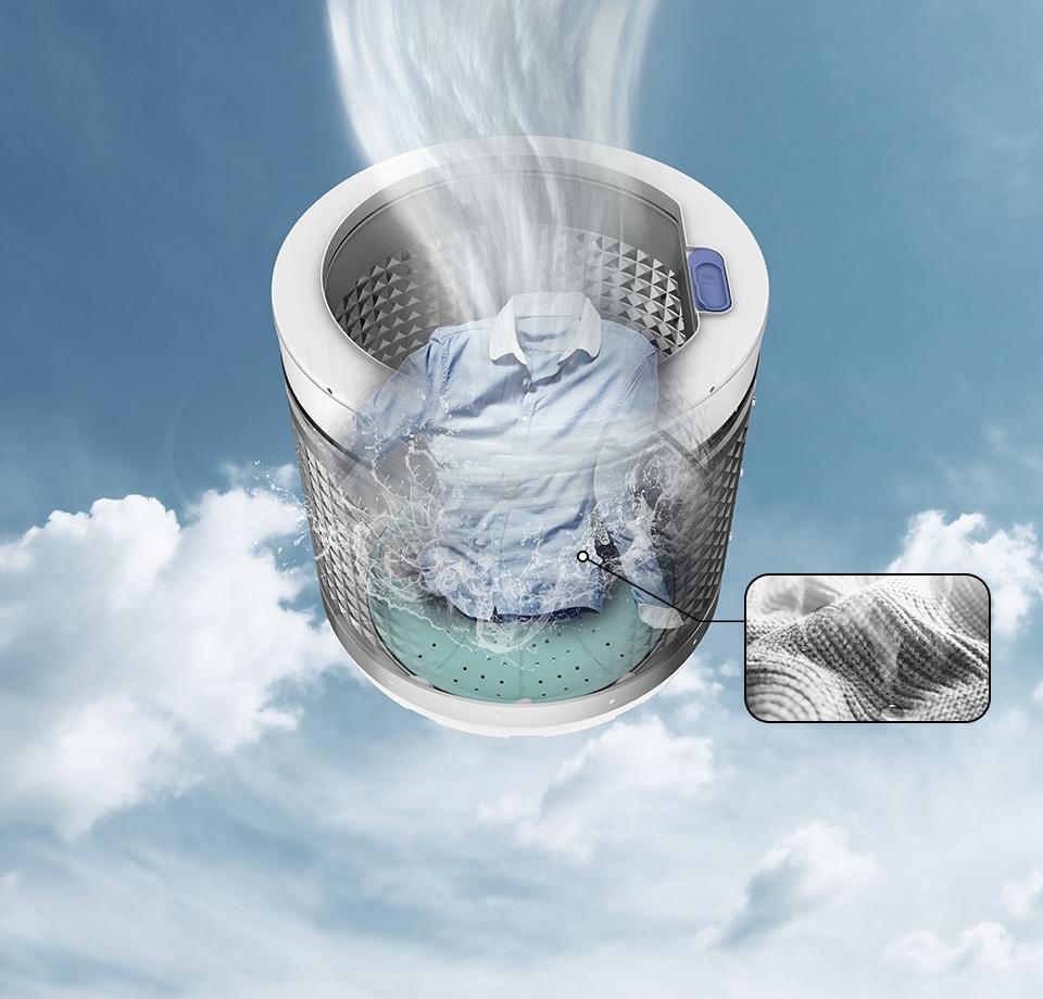 Wa4000hs wobble technology - Lavar almohadas en lavadora ...