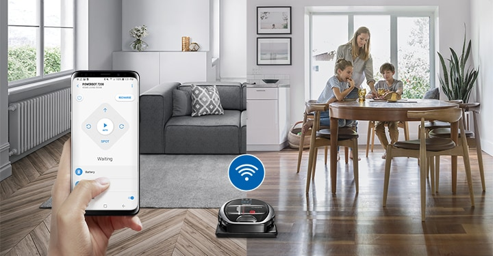 Wi-Fi connectivity, works with the SmartThings App