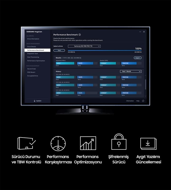 Samsung Magician Yazılımı