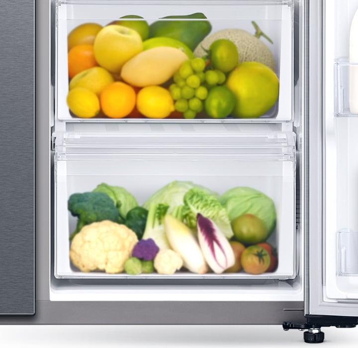 Daha fazla sebze ve meyveyi kolayca saklayın