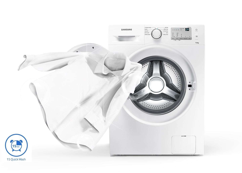 Daha Az Çamaşırda Süreden Tasarruf Edin