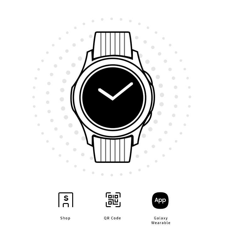 快速設定你的LTE版Galaxy Watch
