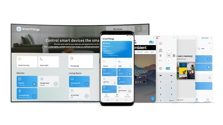 SmartThings 集合所有功能為一