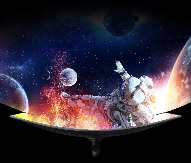 Super Ultra-Wide 曲面顯示器
