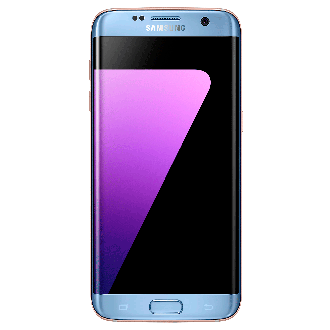 Galaxy S7 edge (Light Blue)