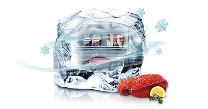 Суперзаморозка сохраняет вкусовые свойства продуктов