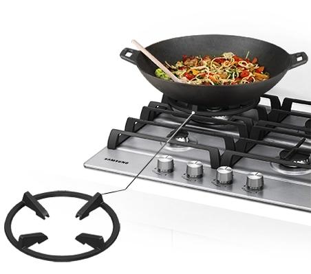 """Безопасное приготовление на сковороде """"Вок"""""""
