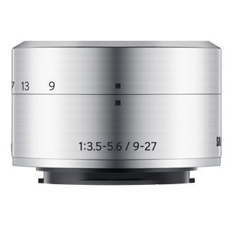 Compact-size Lens Front2 Silver