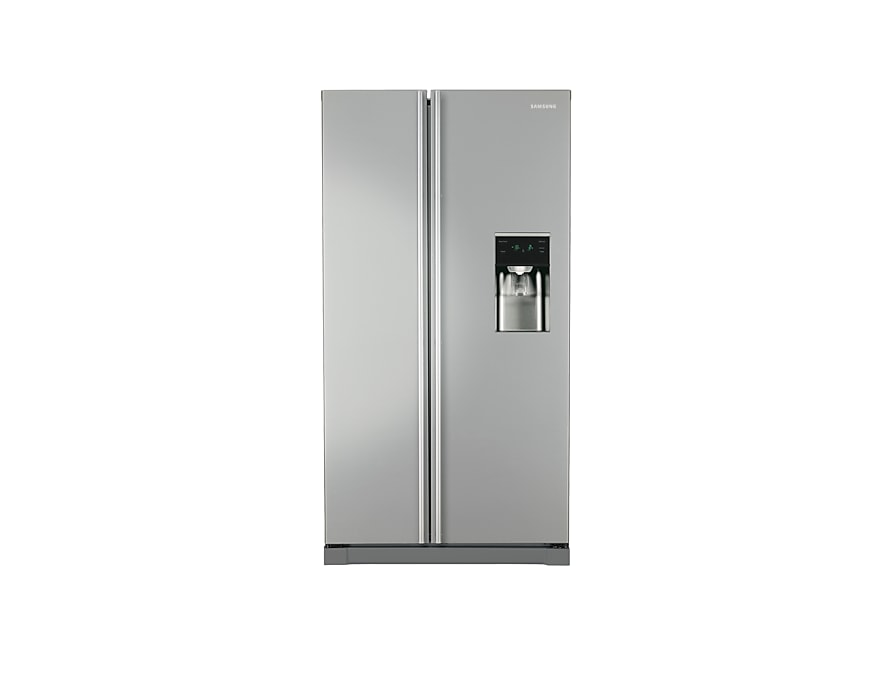 A-Series American Style Fridge Freezer Front2 Silver
