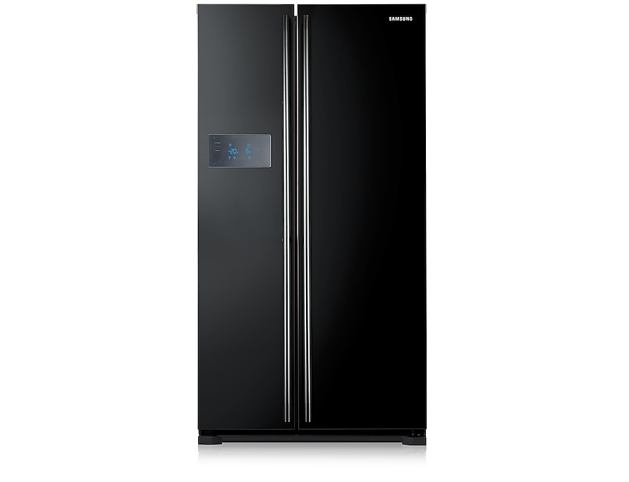 H-Series American Style Fridge Freezer Front2 Black