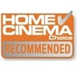 Home Cinema Choice Recommended Award